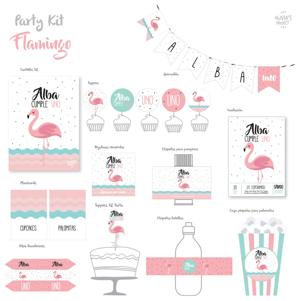Image of Party Kit Flamingo
