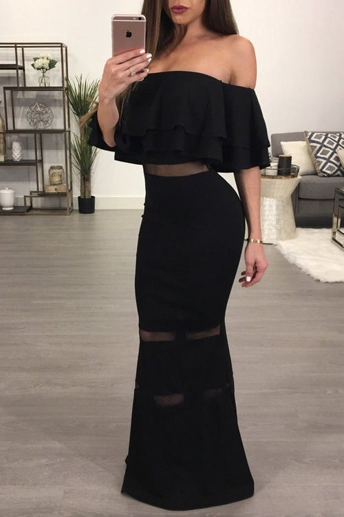 Image of Hailey Gown Black