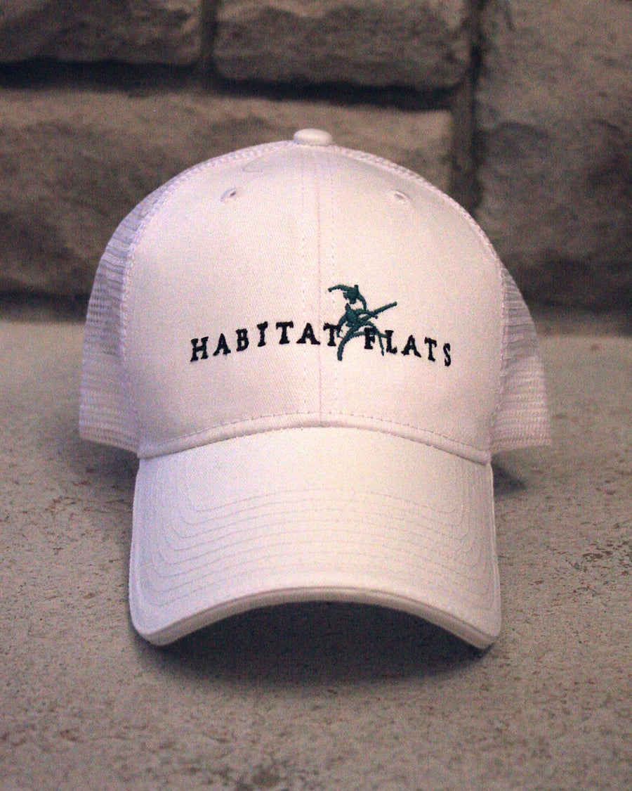 Image of White Full Logo Trucker Hat