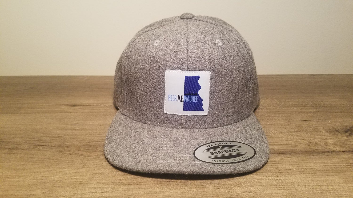 Image of Milwaukee Outline Wool Snapback