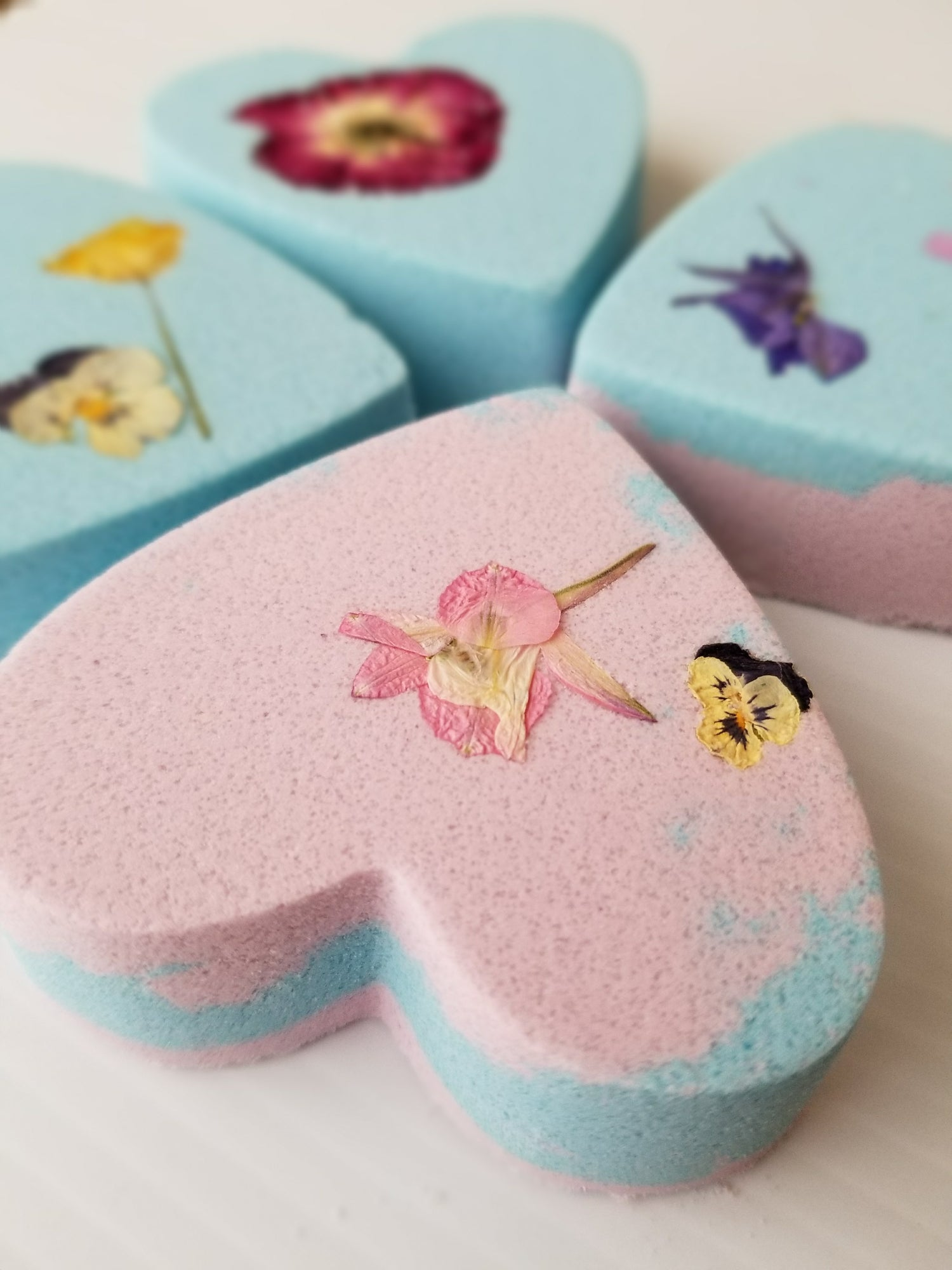 Image of Foamy Bath Bombs