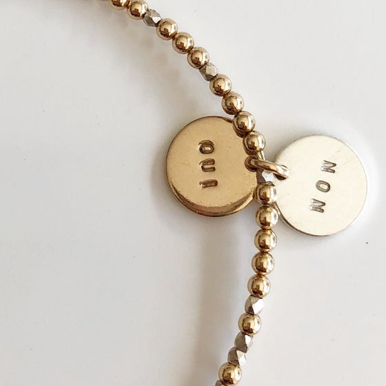 Image of OUI/NON bracelet