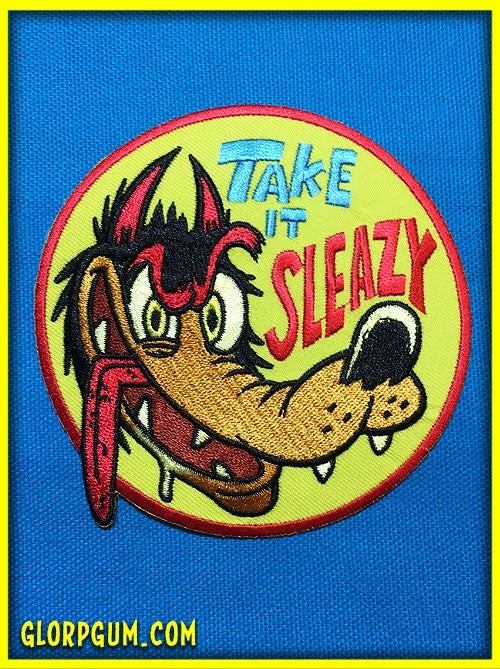 Image of Take it sleazy patch!