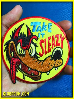 Take it sleazy patch!