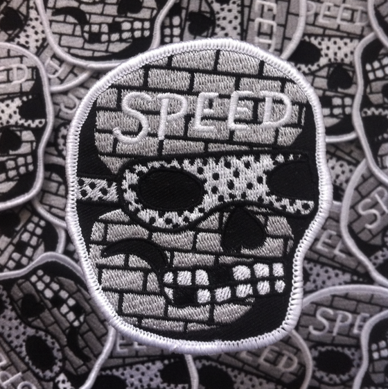 Image of Gloomriders- SPEED Embroidered patch