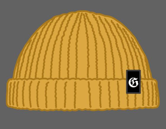 Image of Gloomriders logo trawler beanies