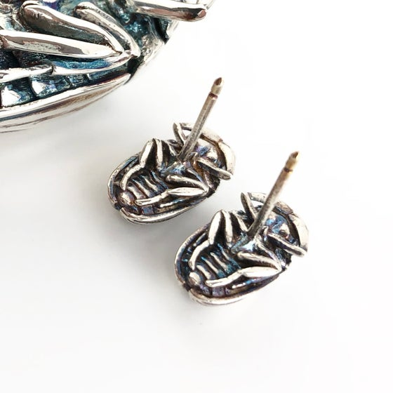 Image of Scarab earrings