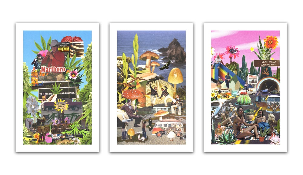 Image of The Family Acid Poster Set