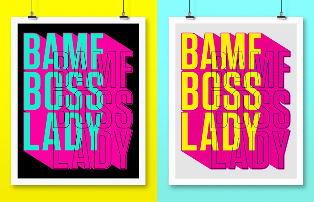 Image of BOSSLADY ART PRINT