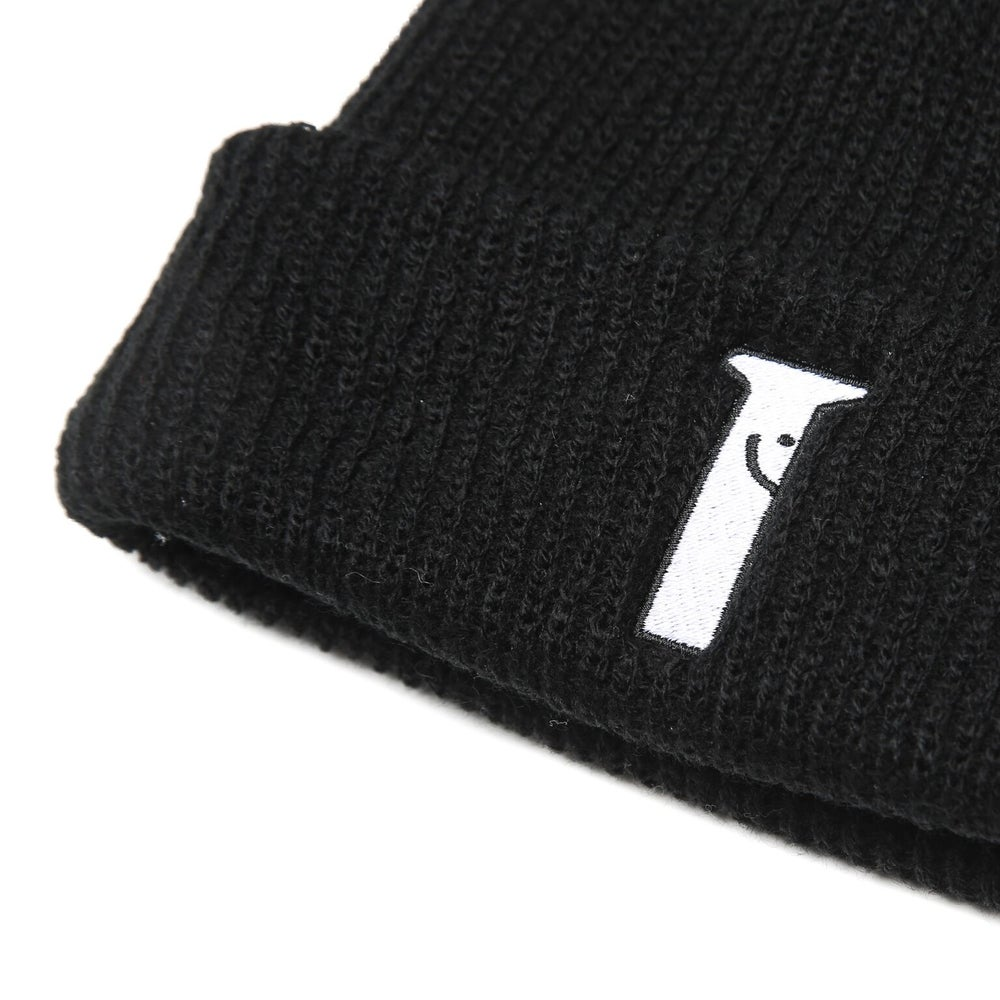 Image of Happy Bolt Black Watch Cap