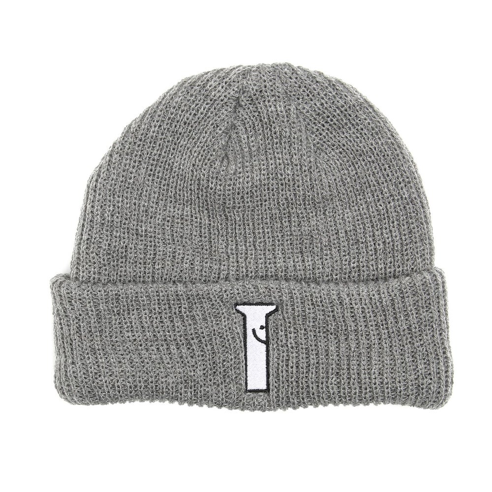 Image of Happy Bolt Grey Watch Cap