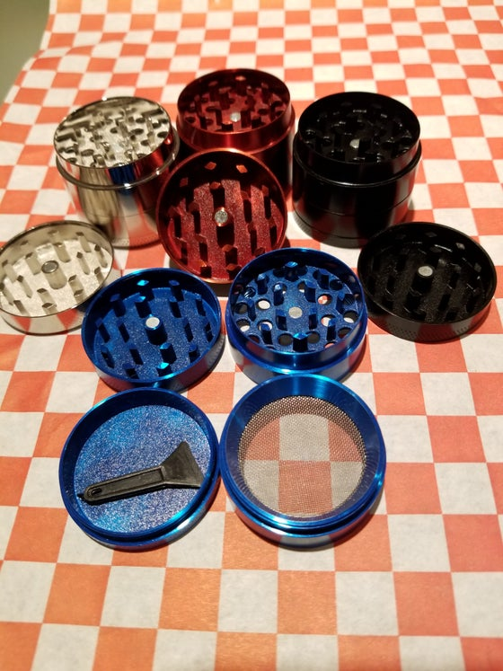 Image of Mini 4 Layer Alloy Metal grinders (4 colors)