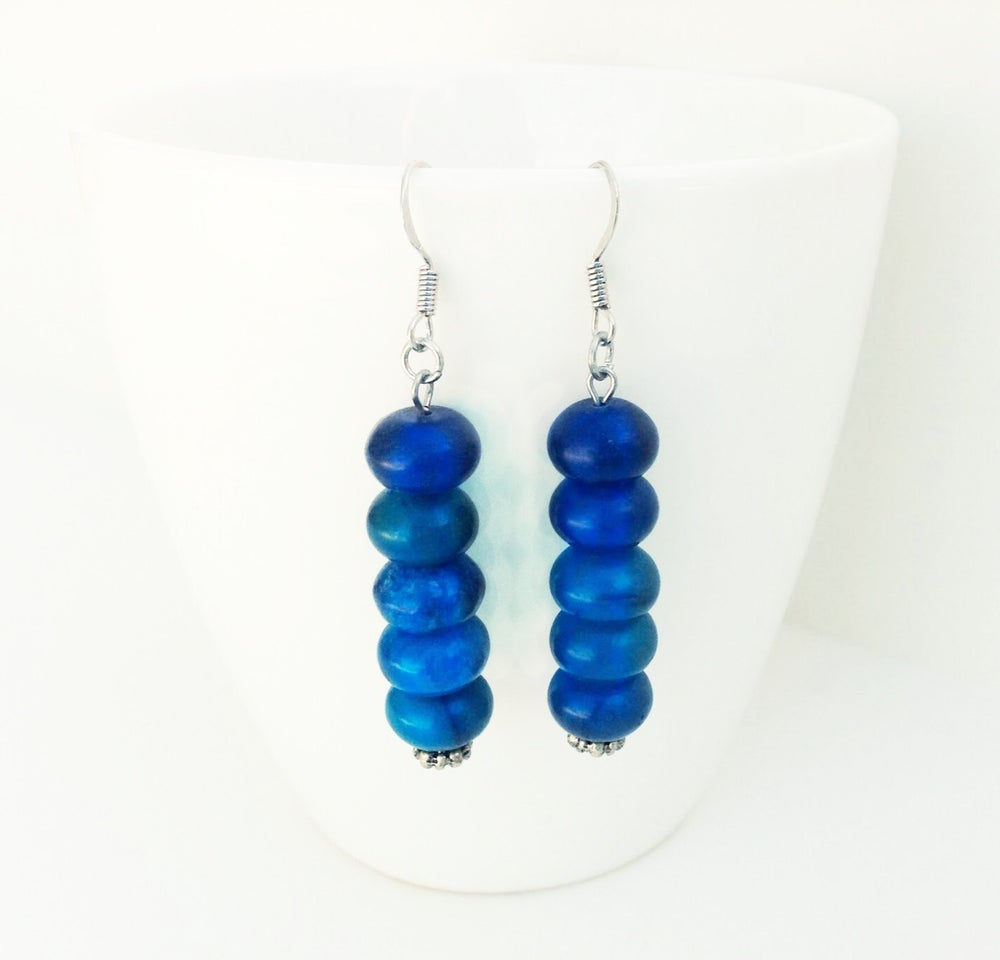 Image of Blueberry Stack Earrings