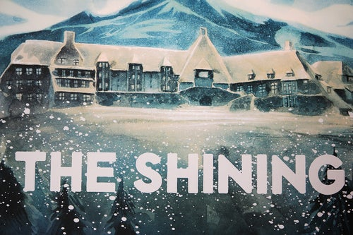 Image of 'The Shining' Limited Edition of 30 - Sérigraphie / Screen Print (AP)