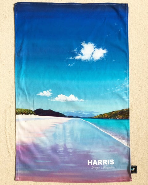 Image of Isle of Harris tea towel