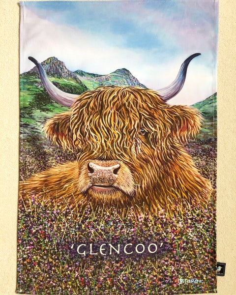 Image of Glencoo tea towel