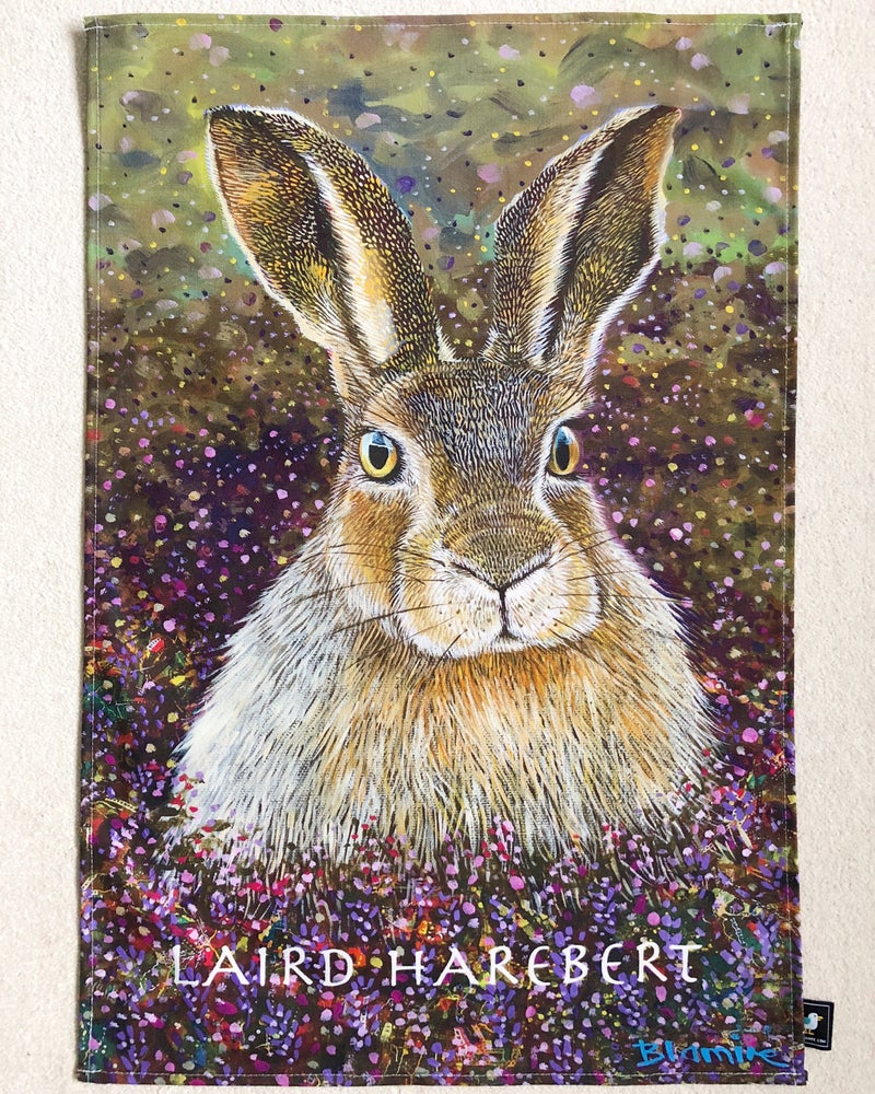 Image of Laird Harebert tea towel