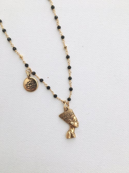 Image of H.E.R Nefertiti Lotus Necklace