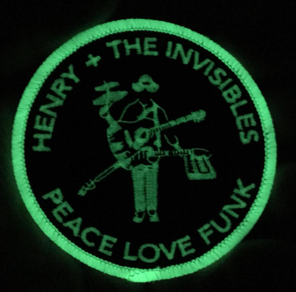 Image of H+TI PEACE LOVE FUNK Glow Patches