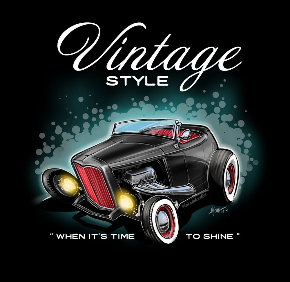 Image of Vintage Style Roadster