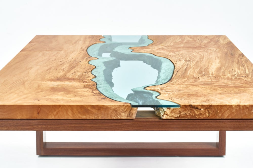 Image of oregon maple river coffee table