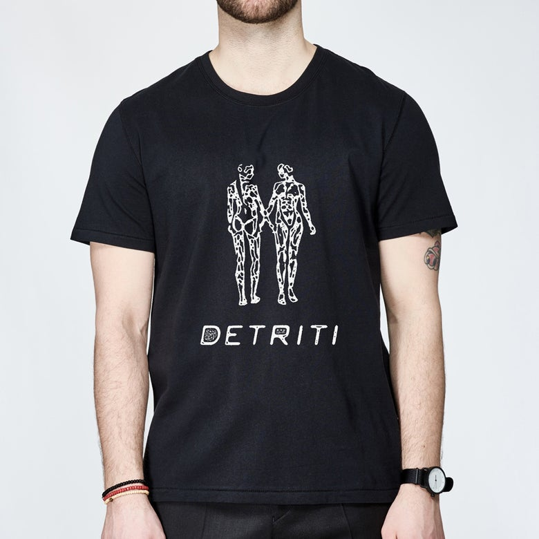 "Image of T-shirt ""Earthlings"" Detriti"