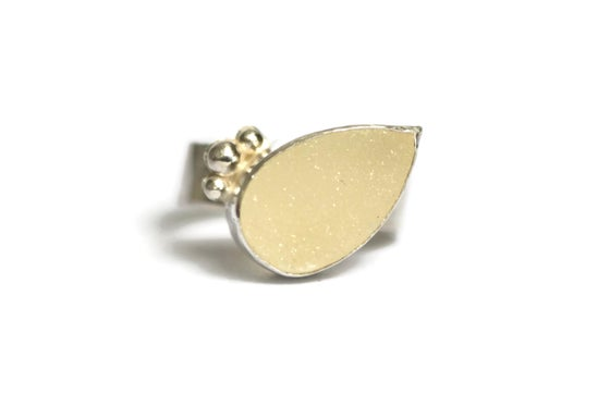 Image of Deep druzy ring
