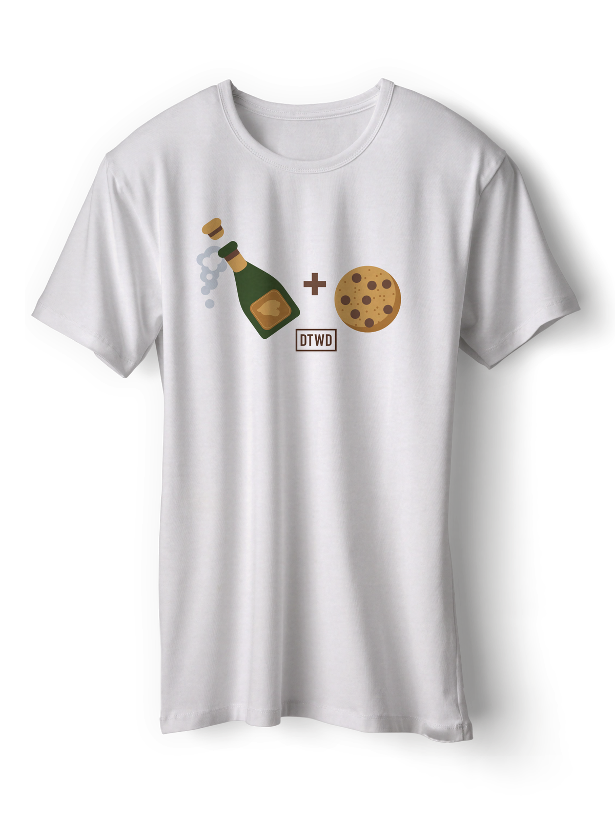 Image of Champagne and Cookies