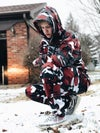 Lifted & Gifted Red Camo Hoodie