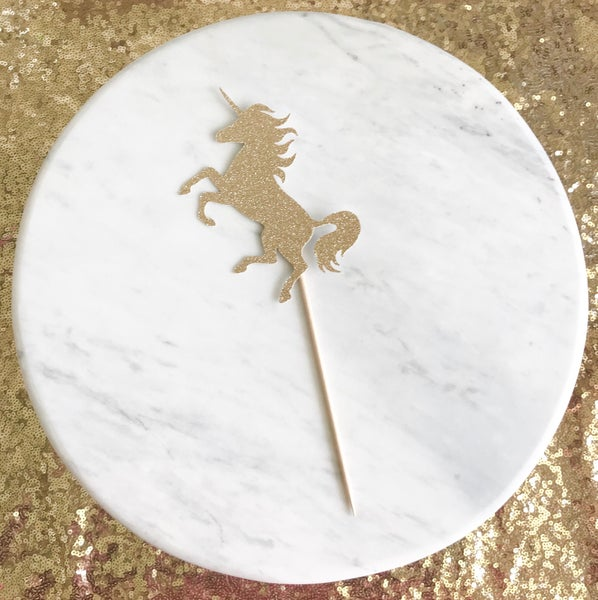Image of Unicorn Cake Topper