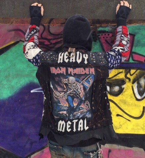 Image of Maiden Heavy Metal Vest