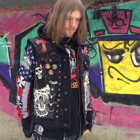 Image of Maiden Heavy Metal Vest