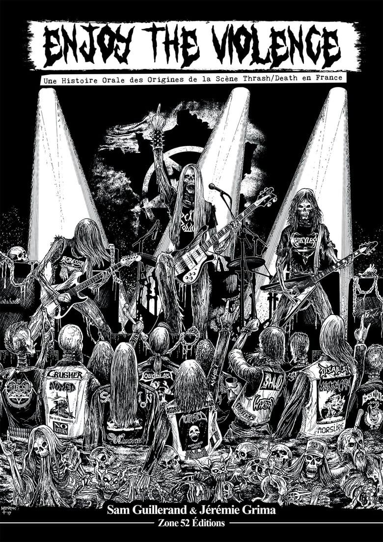 Image of ENJOY THE VIOLENCE, de Sam Guillerand et Jérémie Grima