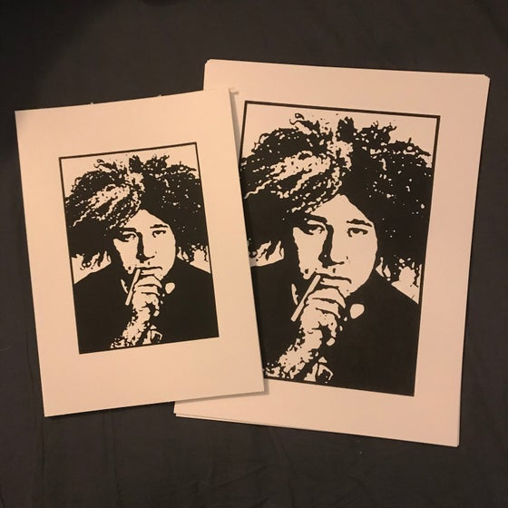 Image of William Melvins Hick Screen Print