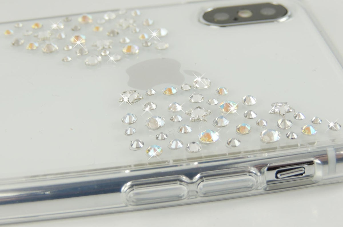 Image of Stardust Silver Shimmer for iPhone and Samsung
