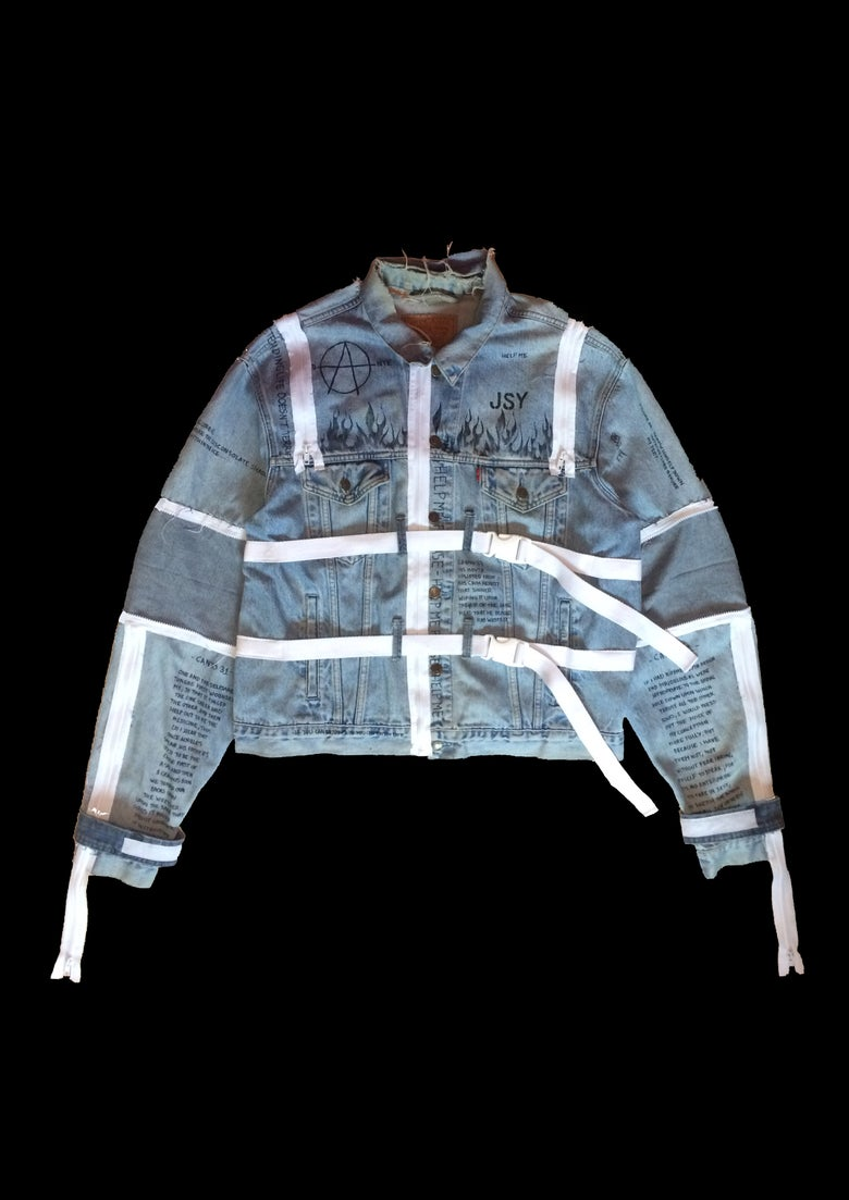 Image of CAMISOLE DENIM JACKET