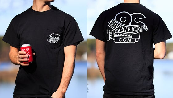 Image of Black Pocket Tee *NEW