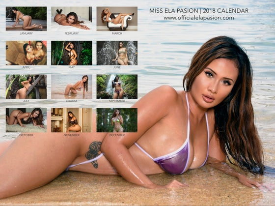 Image of *NEW* 2018 Ela Pasion Calendar