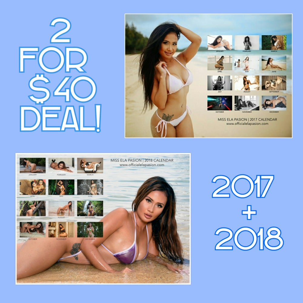 Image of 2 for 40$ - 2017 + 2018 Calendar SALE!!
