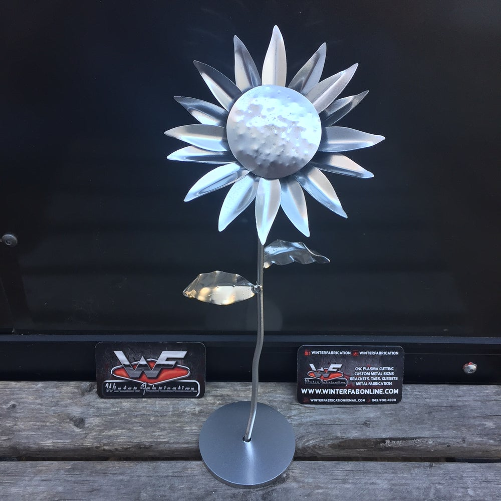 Image of Forever Sunflower - with base