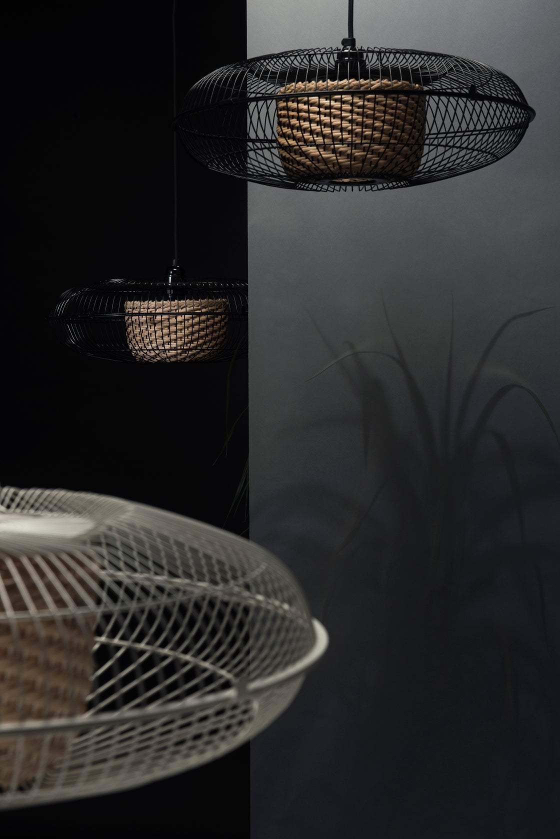 Image of FAN lamp~ Black