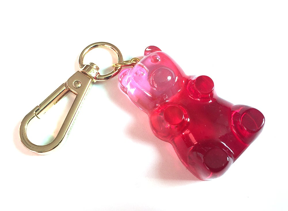 Image of Valentines Gummy Bear Bag Charm