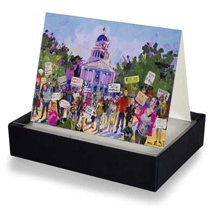 Image of Art Cards - Women's March 2018