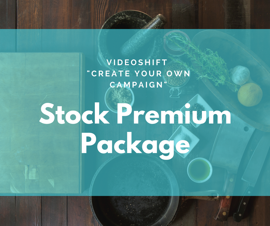 "Image of Create Your Own Campaign - ""STOCK PREMIUM"" Package"