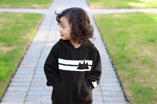 Image of Youth Double Striped Pullover Hoodie