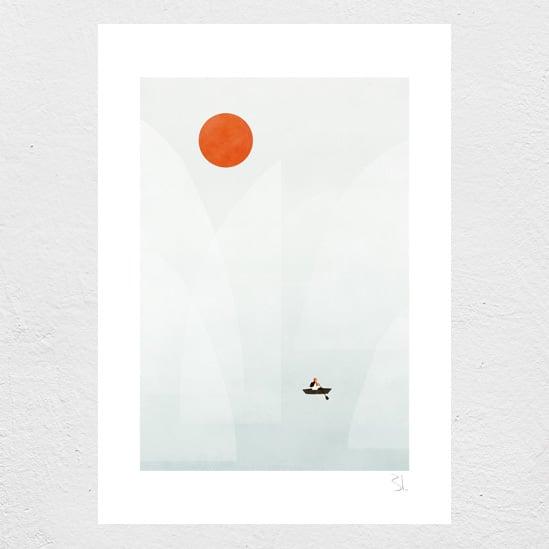 Image of Iceberg Print