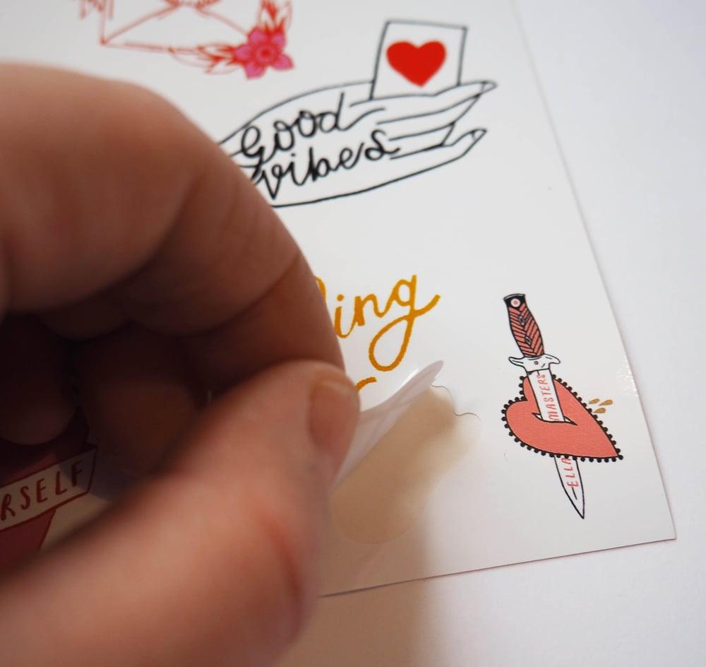 Image of You matter Sticker set