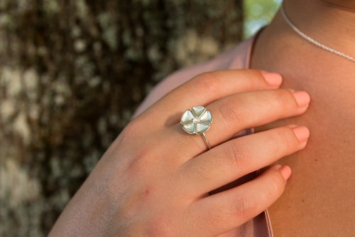 Image of Bague Sakura PM - Collection Garden Party