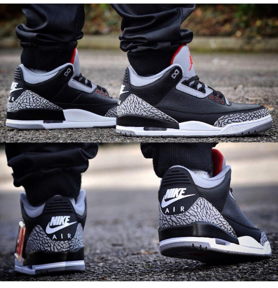 the best attitude 058a4 c7e94 Jordan 3 OG Black Cement