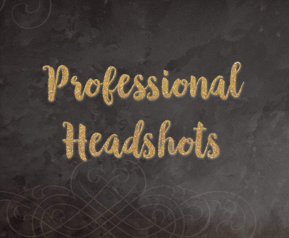 Image of Professional Headshot Session & Retouched Image